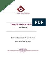 Derecho electoral mexicano Libro de texto