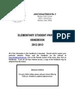 elementary handbook 2012-2013
