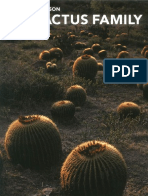 The Cactus Family | Plant Morphology | Horticulture And