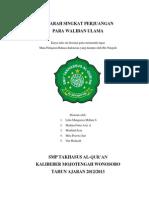 makalah sejarah wali songo lengkap