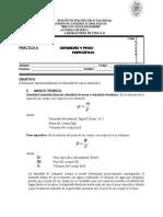 Practica 6 Densidad y Peso Especifico F-II 2009
