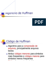 Algoritmo de Huffman
