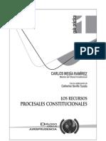 Los Recursos Procesales Constitucionales