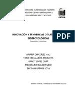 IMPRIMIR_Inovación y tendencias de las patetentes biotecnológicas
