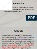 Research Proposal (Draft)
