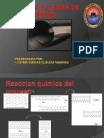 Proceso de síntesis de la fibra de carbono