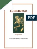 El Demiurgo [de Conocete a Ti Mismo]