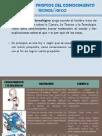Conceptos Propios Del Conocimiento Tecnologico