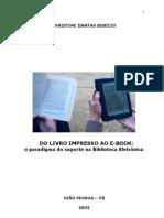 Do Livro Impresso Ao E-book