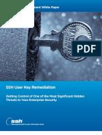 SSH User Key Remediation