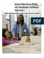 How Do School Libraries Help Pennsylvania Students Achieve Academic Success?