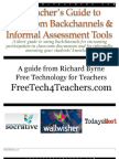 A Teacher's Guide to Classroom Backchannels & Informal Assessment Tools