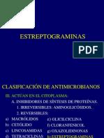 8estreptograminas y Linezolid