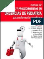 Manual Tecnicas y Procedimientos en Urgencias de Pediatria