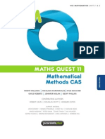 Mathematical Methods CAS - Maths Quest 11