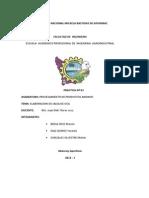 Elaboracion de Jalea de Oca
