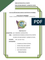 Elaboracion de Bebidas Nutraceuticas de Coronta de Maiz Morado