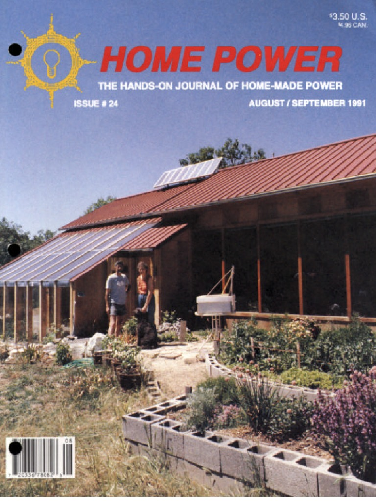 Home Power Magazine Issue 024 1991 08 09pdf Photovoltaics Atlantic 20 Foot 6wire Extension Cord Color Changing Lighting Battery Charger
