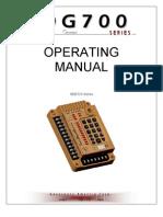 Manual SDG725