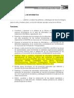 Revisión - Funciones Area de Operaciones 2011 - Borrador