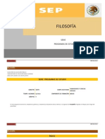 PROGRAMA DE FILOSOFÍA DGB