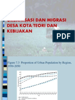 Urbanisasi Migrasi Desa Kota Dan Aglomerasi