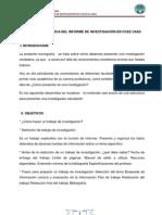 ESTRUCTURA TÉCNICA DEL INFORME DE INVESTIGACIÓN EN CCEE USAC - CONTENIDO
