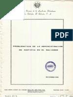 Problemática de la Administración de Justicia - CORELESAL 1990
