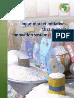 Input Market Initiatives for Web