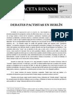 Debates Pactistas