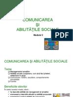 Modulul II- Comunicare