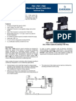 FSX / FSY / FSM Electronic Speed Controllers Technical Data