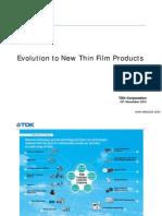 射频产品的进化——薄膜技术的应用--东电化(中国)投资有限公司--销售工程师--李云昭