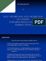 Self-Awareness and Awareness of Others(1)