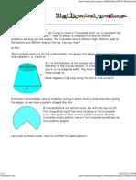 A Truncated Cone