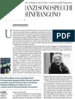 I romanzi sono specchi che si infrangono di MERCÈ RODOREDA - La Repubblica 30.01.2013