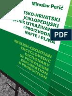 ENGLISH-CROATIAN ENCYCLOPEDIC DICTIONARY OF PETROLEUM EXPLORATION & PRODUCTION