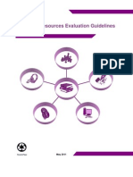 Learning Resource Evaluation Guidelines