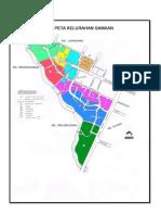 Peta Kelurahan Samaan Kota Malang