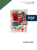 Bedienerhandbuch JustPrintv2r1 521372CG De