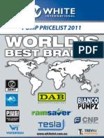 White International Price list