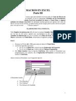 Guia Macros de Excel III
