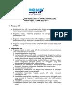 Tata Tertib Pengawas Ujian Nasional TP 2012 2013