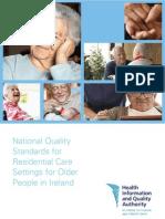 HIQA Residential Care Standards 2008