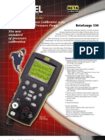 Catalog Hand Held Pressure Calibrator Bg330