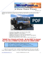 The Hybrid Water Power Cell
