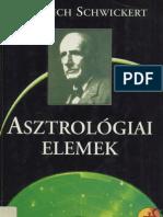 Friedrich Schwickert - Asztrológiai elemek