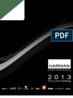 Harman Professional 2013 Full Catalogue