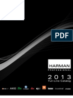 Harman Professional 2013 Full Catalogue