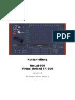 Anleitung LtmLAB Roland TR-606